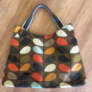Orla Kiely Shoulder Bag multi stem